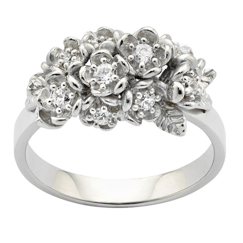6c5688051e4 Karen Walker Wild Flower Ring - 9ct White gold -  3