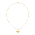 Zoe & Morgan LouLou Necklace - Gold Plated & Moonstone - Walker & Hall