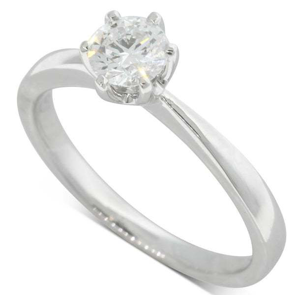 18ct White Gold .50ct Diamond Nova Ring