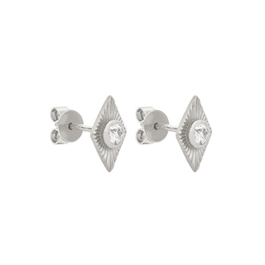 8c02276d5 Zoe & Morgan White Zircon Rays Stud Earrings - Sterling Silver