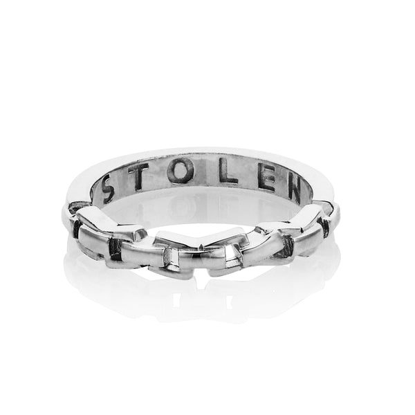 Stolen Girlfriends Club Chain Ring - Walker & Hall
