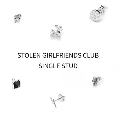 Stolen Girlfriends Club Single Stud - Walker & Hall