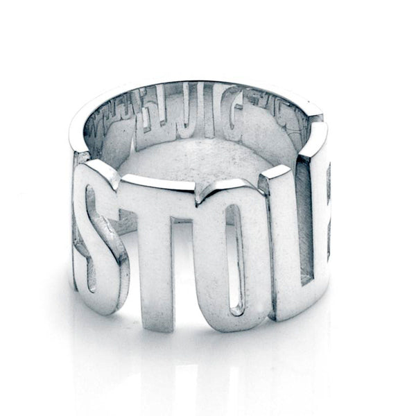 Stolen Girlfriends Club Stolen Band Ring