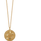 Meadowlark Talisman Necklace - Gold Plated - Walker & Hall