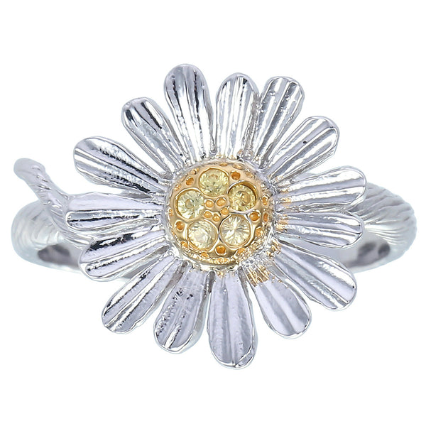 Zoe & Morgan Daisy Ring - Sterling Silver - Walker & Hall