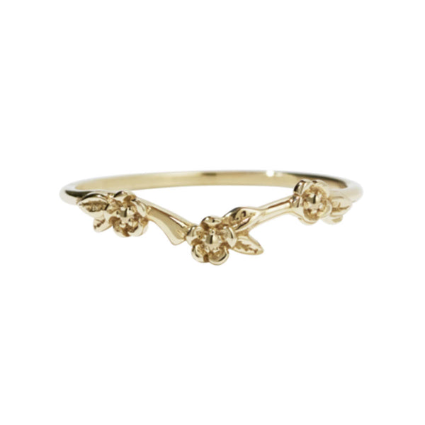 Meadowlark Alba Band - 9ct Yellow Gold - Walker & Hall