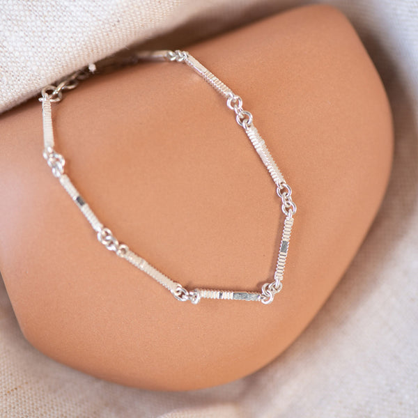 PRE-ORDER Zoe & Morgan Ameena Bracelet - Sterling Silver - Walker & Hall
