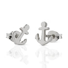 Meadowlark Anchor Studs - Sterling Silver - Walker & Hall