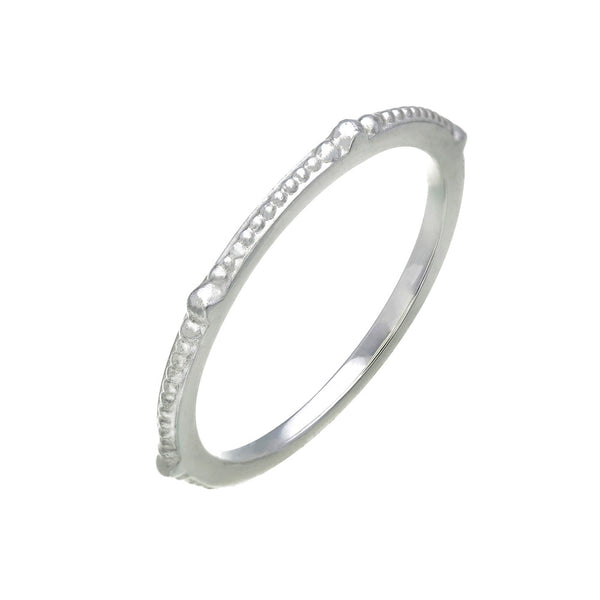 Zoe & Morgan Bobble Ring - Sterling Silver