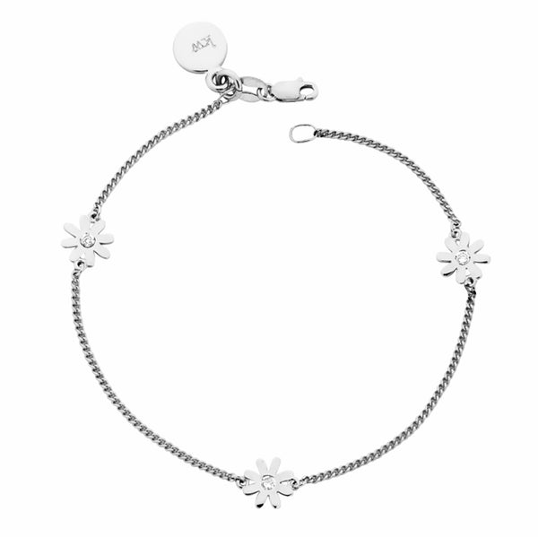 Karen Walker Daisy Charm Bracelet - Sterling Silver - Walker & Hall