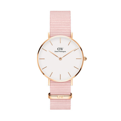Daniel Wellington Petite Rosewater 32mm Watch - Walker & Hall