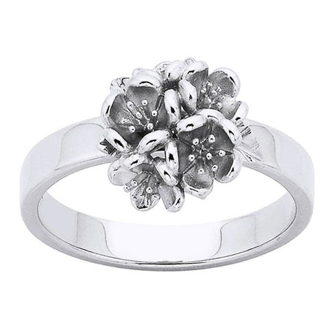 Karen Walker Flower Ball Ring - Sterling Silver - Walker & Hall