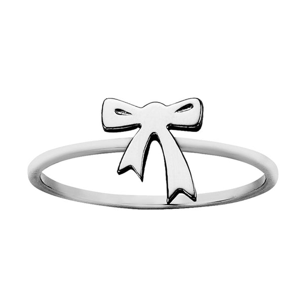 ea925502e736 Karen Walker Mini Bow Ring - Sterling Silver - Walker   Hall