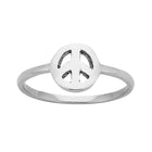 Karen Walker Mini Peace Ring - Sterling Silver - Walker & Hall