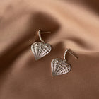 Zoe & Morgan x Walker & Hall Sweet Heart Earrings - Sterling Silver - Walker & Hall