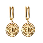 Karen Walker Voyager Earrings - 9ct Yellow Gold - Walker & Hall