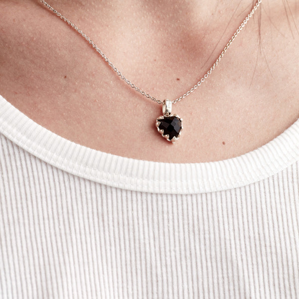 Stolen Girlfriends Club Love Claw Necklace - Sterling Silver & Onyx - Walker & Hall
