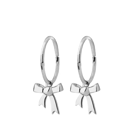 Karen Walker Bow Sleepers - Sterling Silver - Walker & Hall
