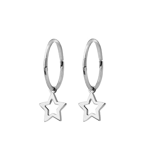 Karen Walker Star Sleepers - Sterling Silver - Walker & Hall