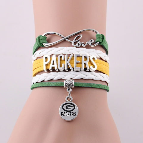 Green Bay Packers Fan Bracelet