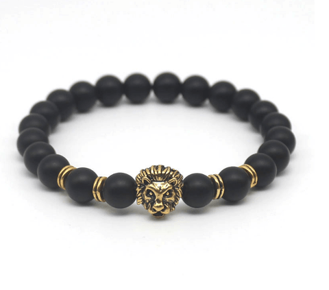 Antique Buddha Lion Head Bracelet - EazyShoppa