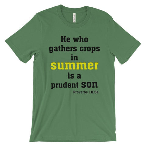 Prudent Son Unisex Short Sleeve T-Shirt