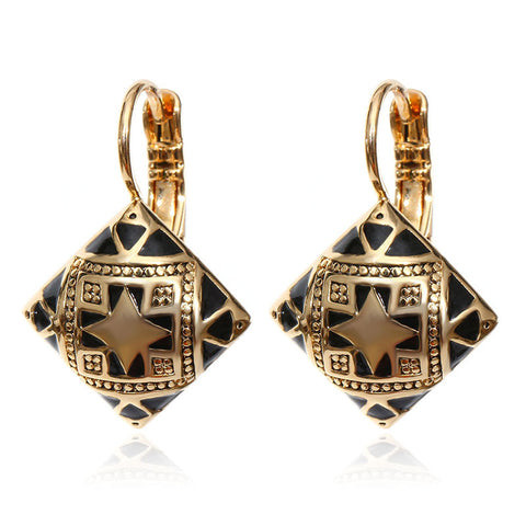 Get Your Free Geometric Drop Earrings Today