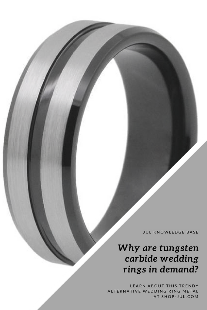 Why are Tungsten Carbide Wedding Rings in demand?