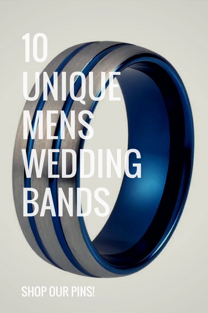 10 Unique Tungsten Wedding Bands