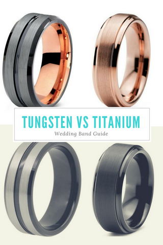 Jewelry Knowledge Base Tungsten vs Titanium Wedding Bands JUL JUL