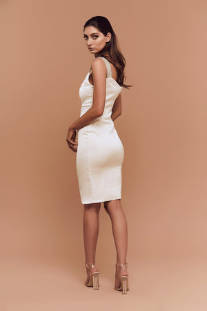 Kimberly Dress (White)