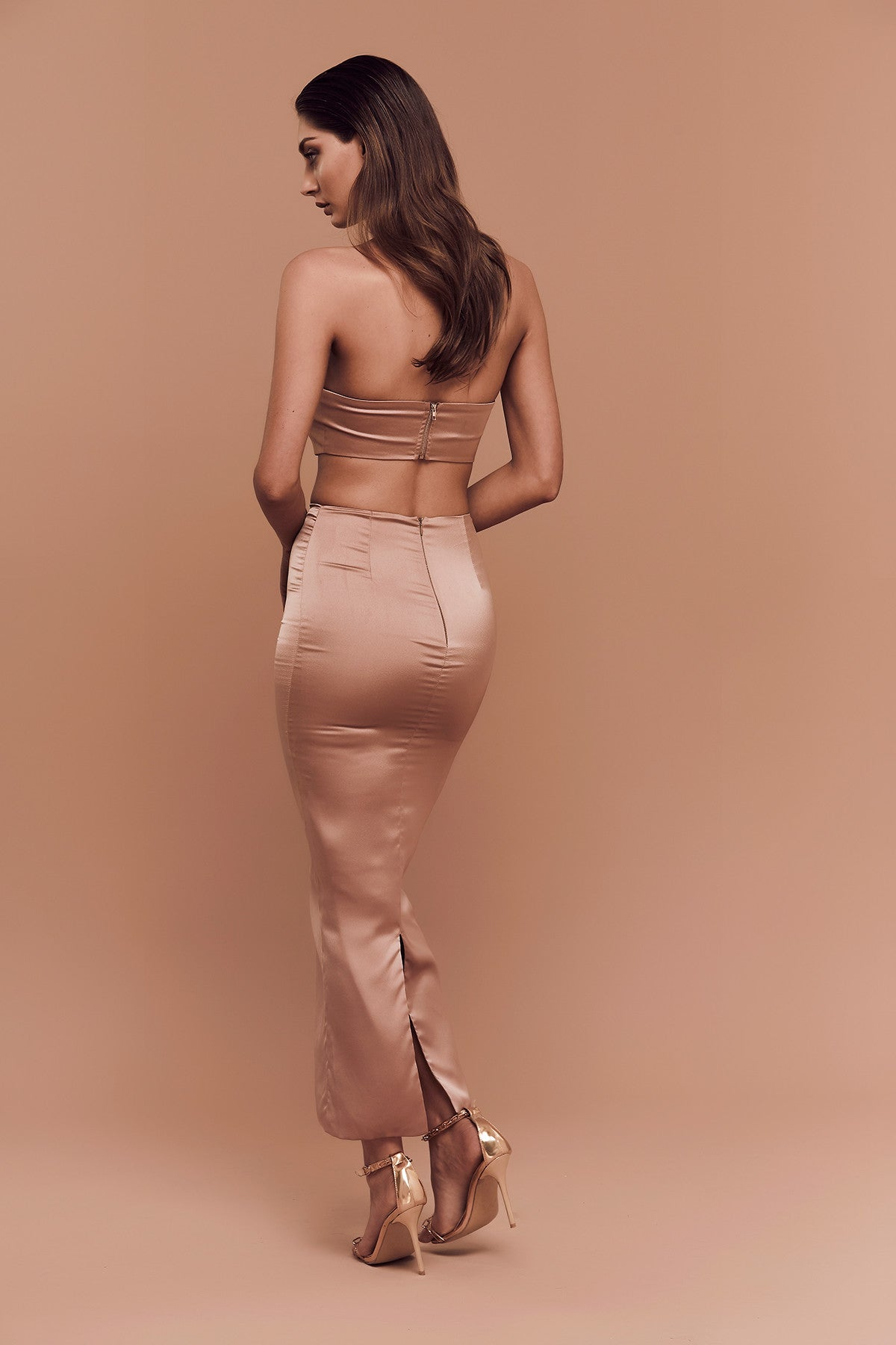 Shanina Skirt (bronze) zoomed