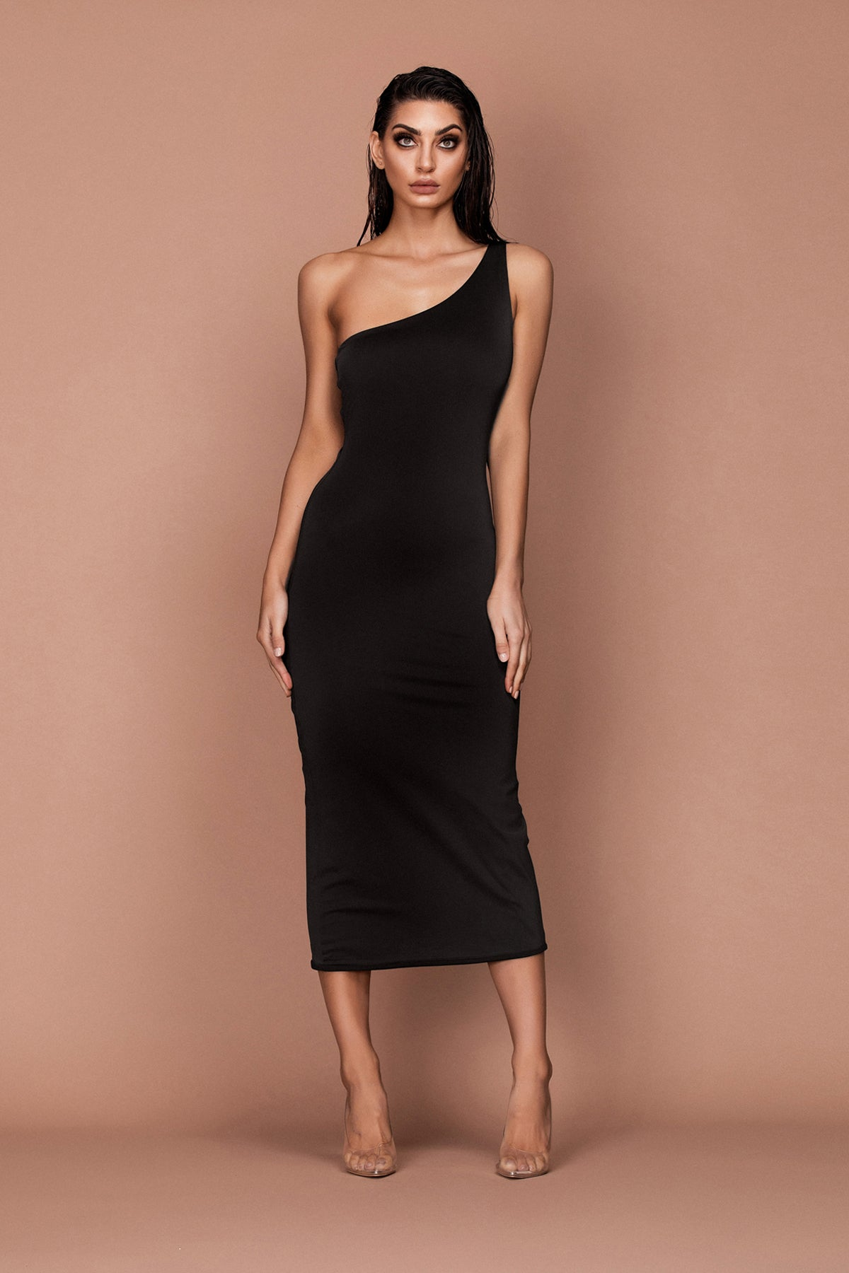Goddess Dress (black) zoomed