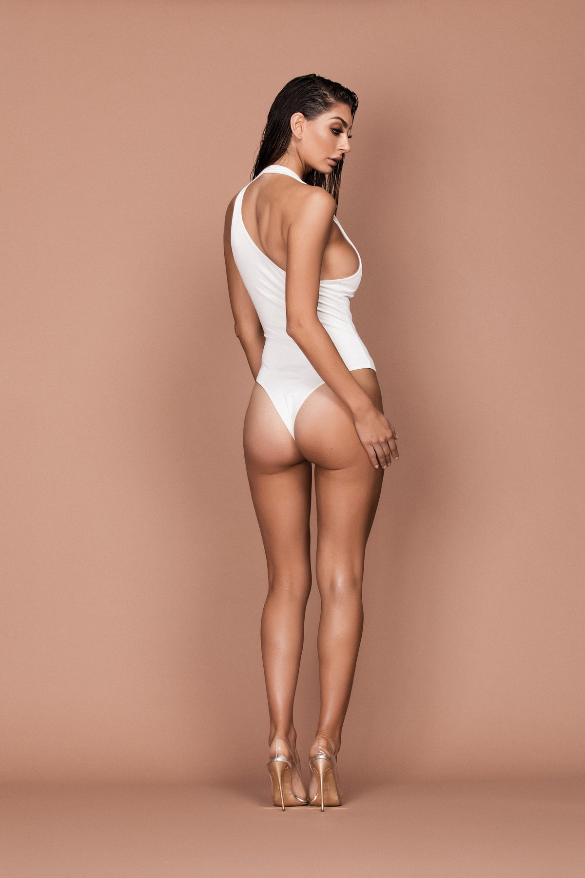 Minx Bodysuit (white) zoomed