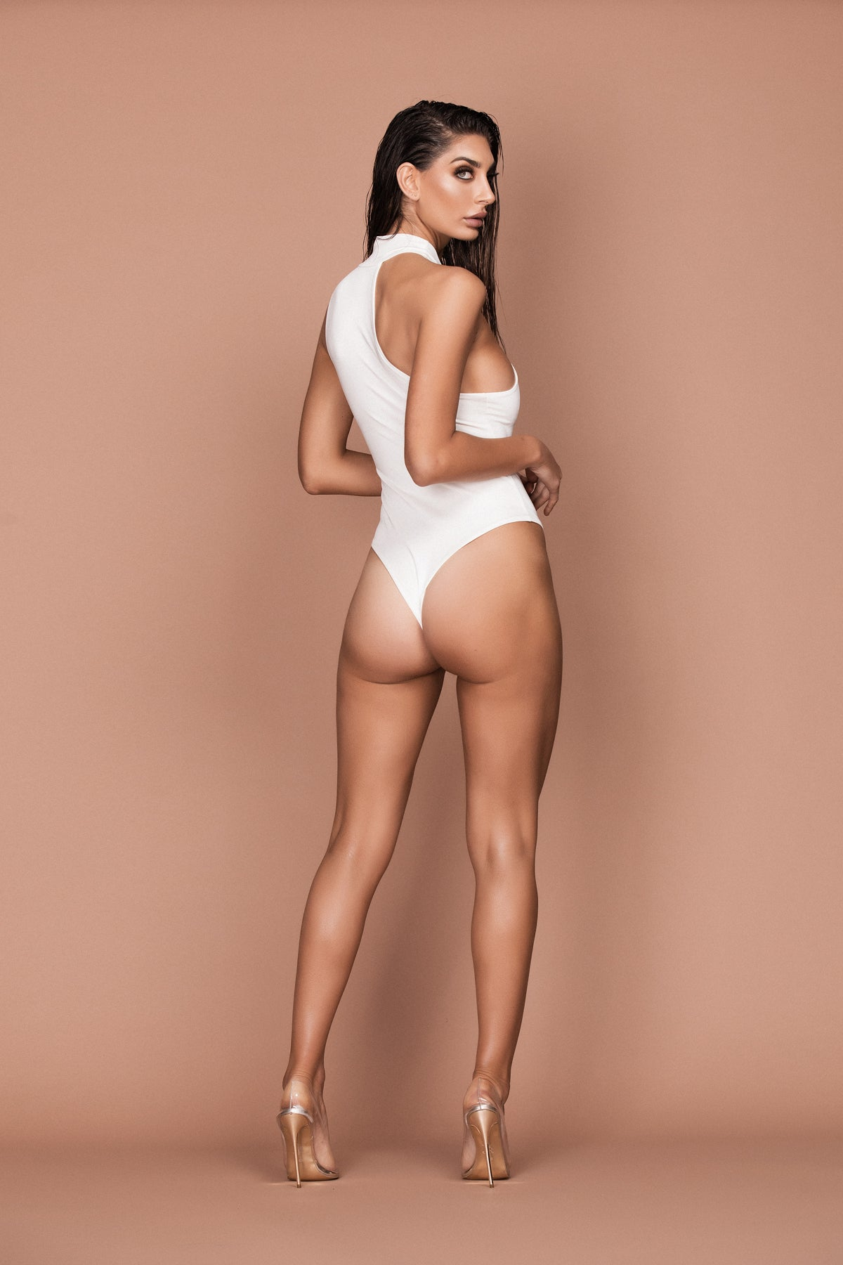 Innuendo Bodysuit (white) zoomed