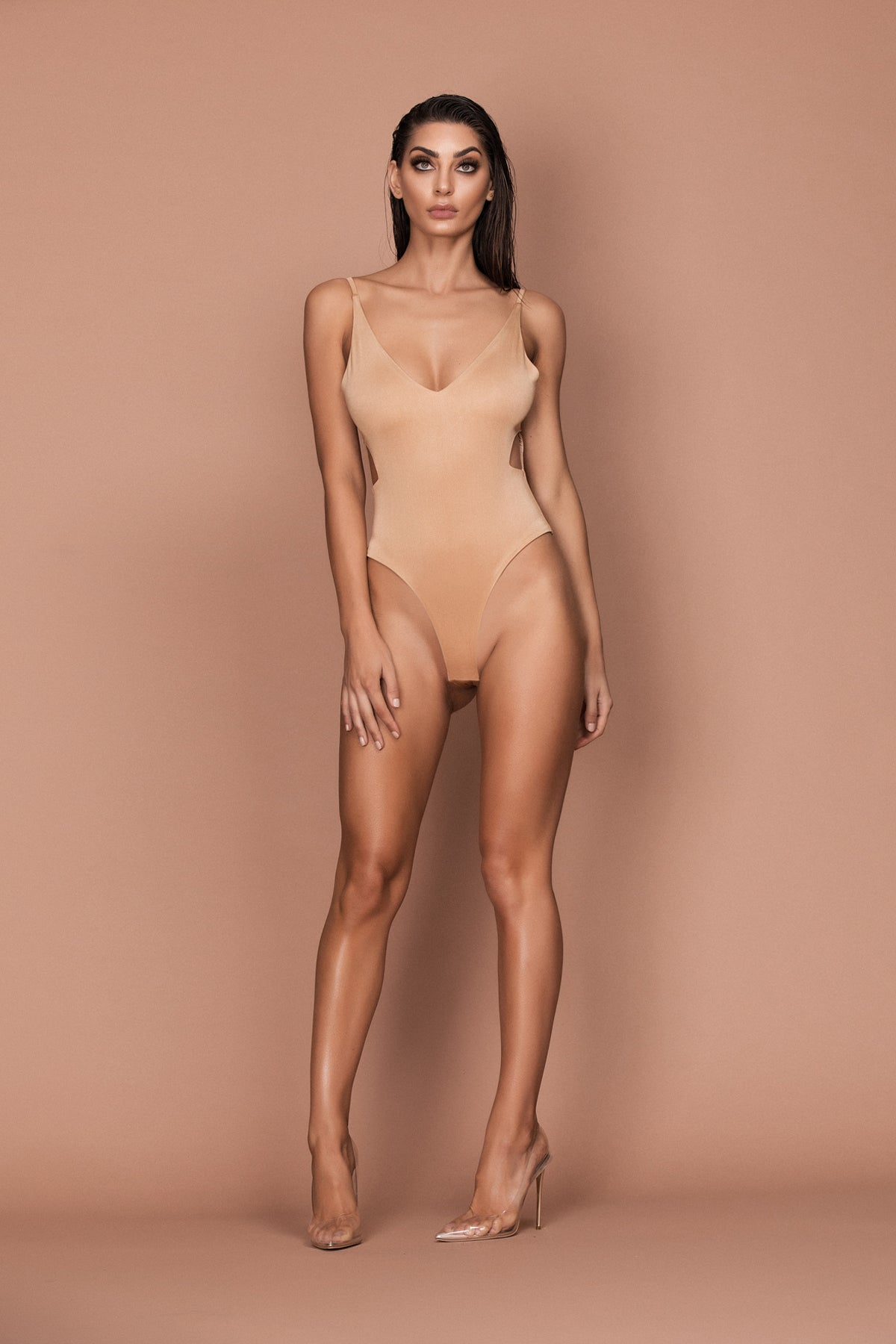 Hush Bodysuit (gold) zoomed