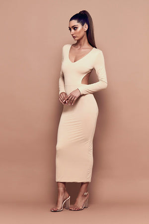Undone Dress (nude)