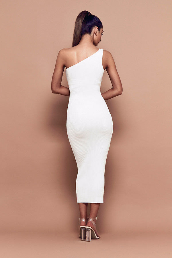 Goddess Dress (white) zoomed