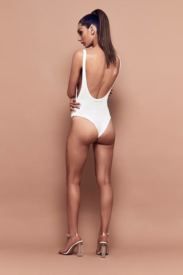 Slay Bodysuit (white) zoomed