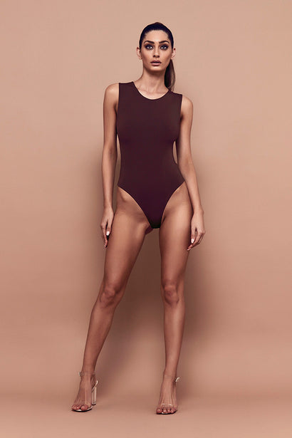 Tempt Bodysuit (chocolate)