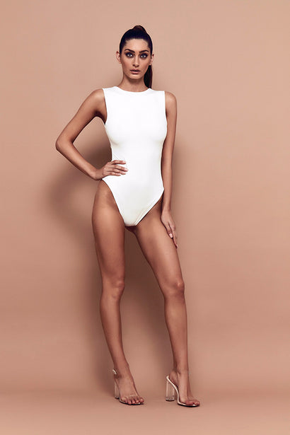 Tempt Bodysuit (white)