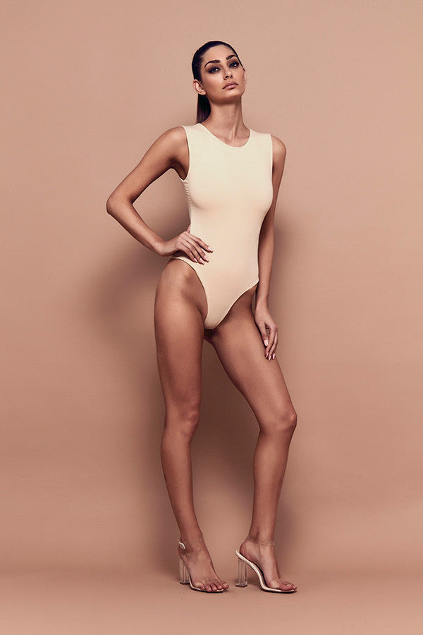 Tempt Bodysuit (nude) zoomed