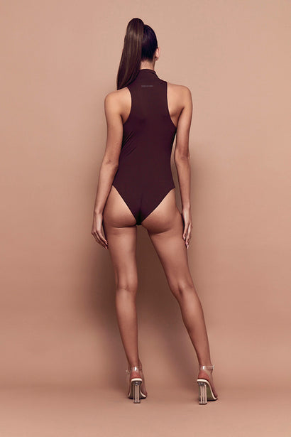 Trick Bodysuit (chocolate)