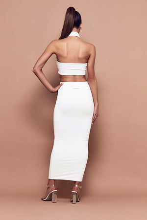 Elba Crop (white)