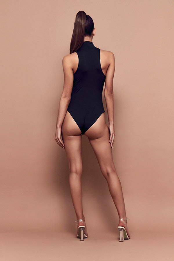 Trick Bodysuit (black) zoomed