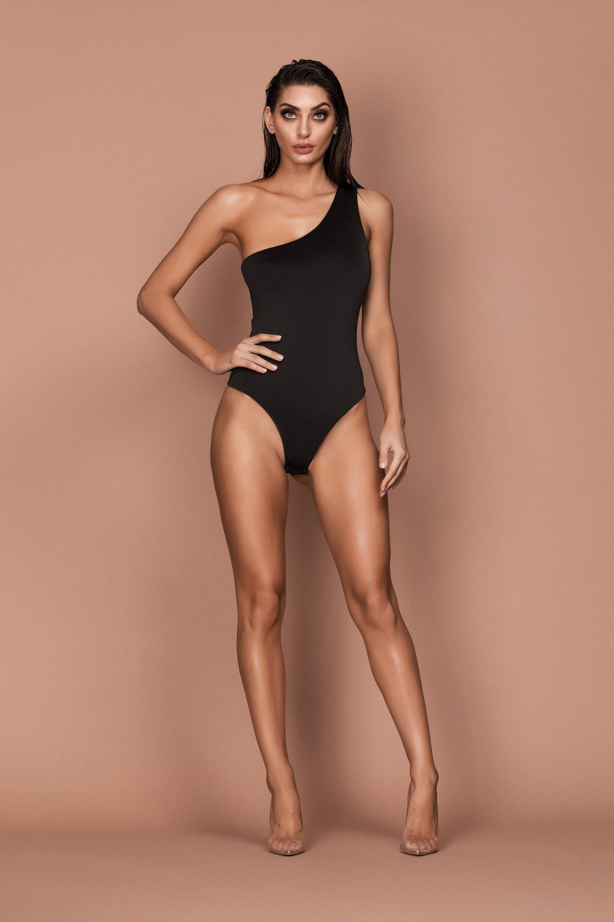 Frame Bodysuit (black) zoomed