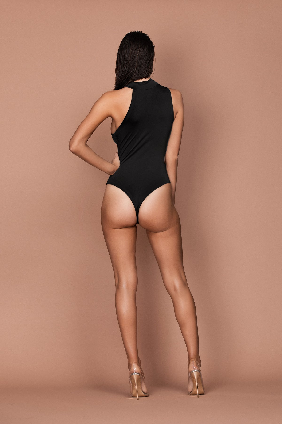 Innuendo Bodysuit (black) zoomed