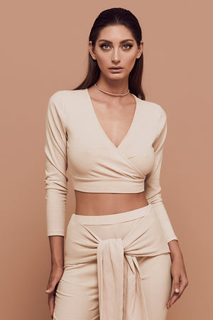 Vibes Top (nude)