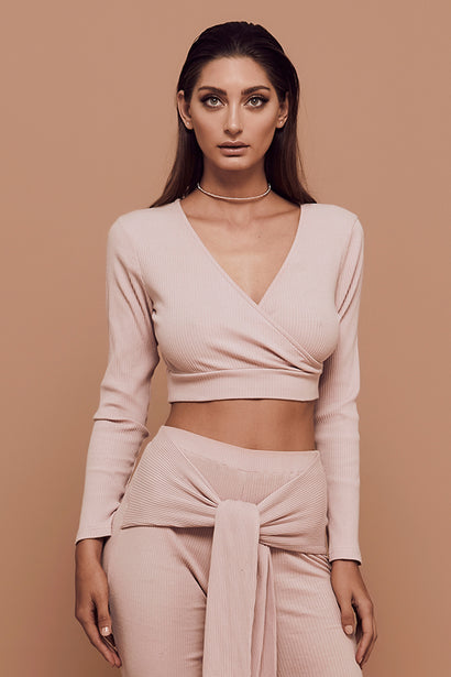 Vibes Top (Dusty Pink)