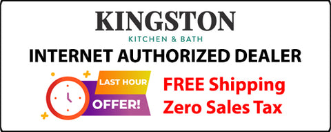 Kingston Brass Gourmetier Arcticstone 36 in. Farmhouse